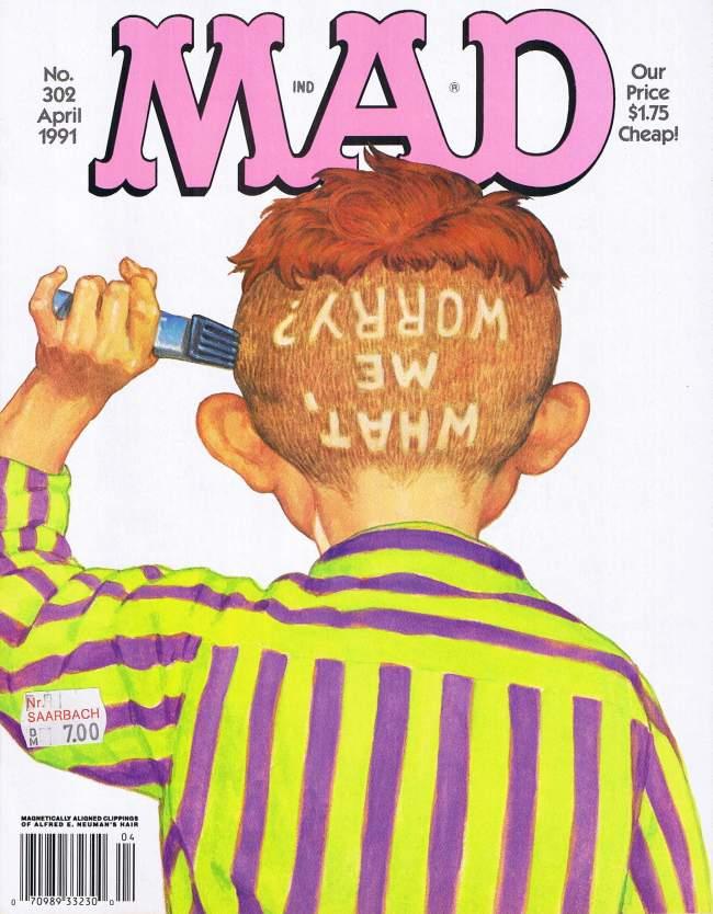 MAD Magazine #302 • USA • 1st Edition - New York