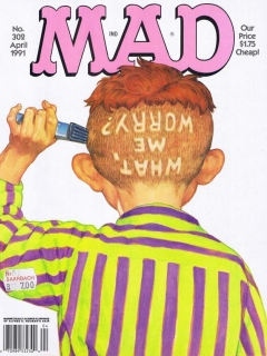 MAD Magazine #302 • USA • 1st Edition - New York