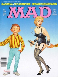 MAD Magazine #304 • USA • 1st Edition - New York