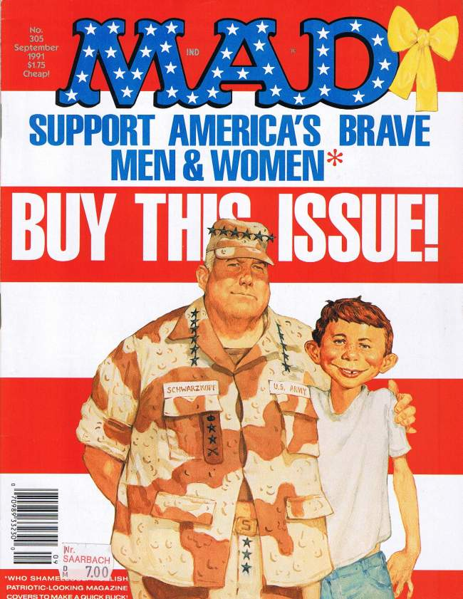 MAD Magazine #305 • USA • 1st Edition - New York