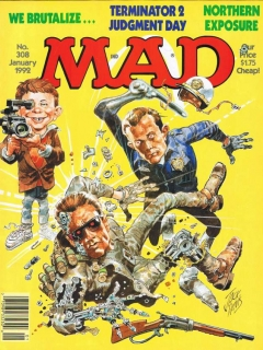 MAD Magazine #308 • USA • 1st Edition - New York