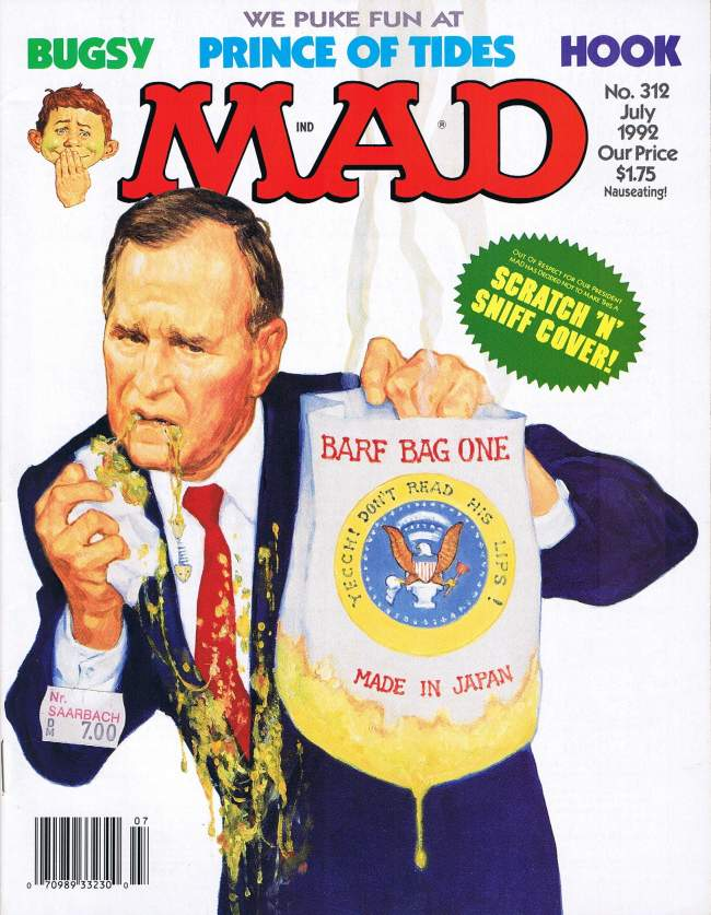 MAD Magazine #312 • USA • 1st Edition - New York