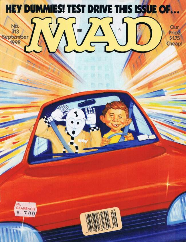 MAD Magazine #313 • USA • 1st Edition - New York