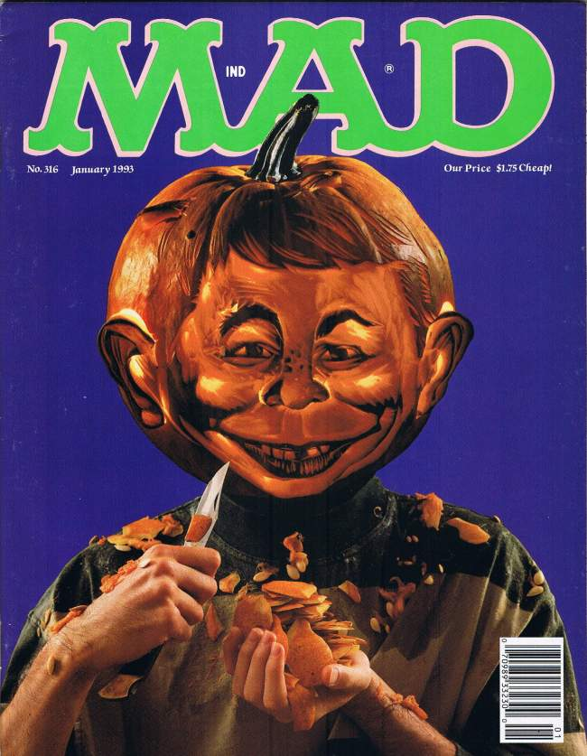 MAD Magazine #316 • USA • 1st Edition - New York