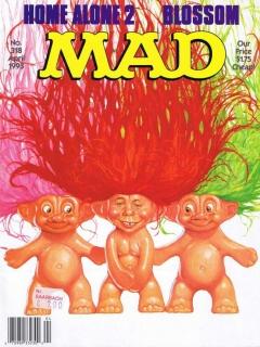 MAD Magazine #318 • USA • 1st Edition - New York