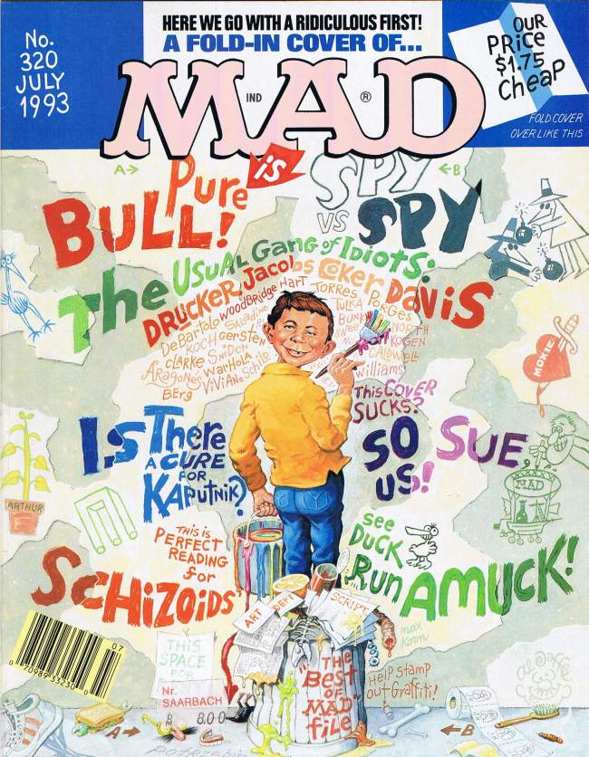 MAD Magazine #320 • USA • 1st Edition - New York