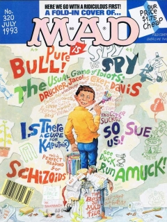 Go to MAD Magazine #320 • USA • 1st Edition - New York