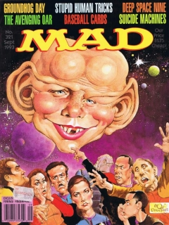 Go to MAD Magazine #321 • USA • 1st Edition - New York