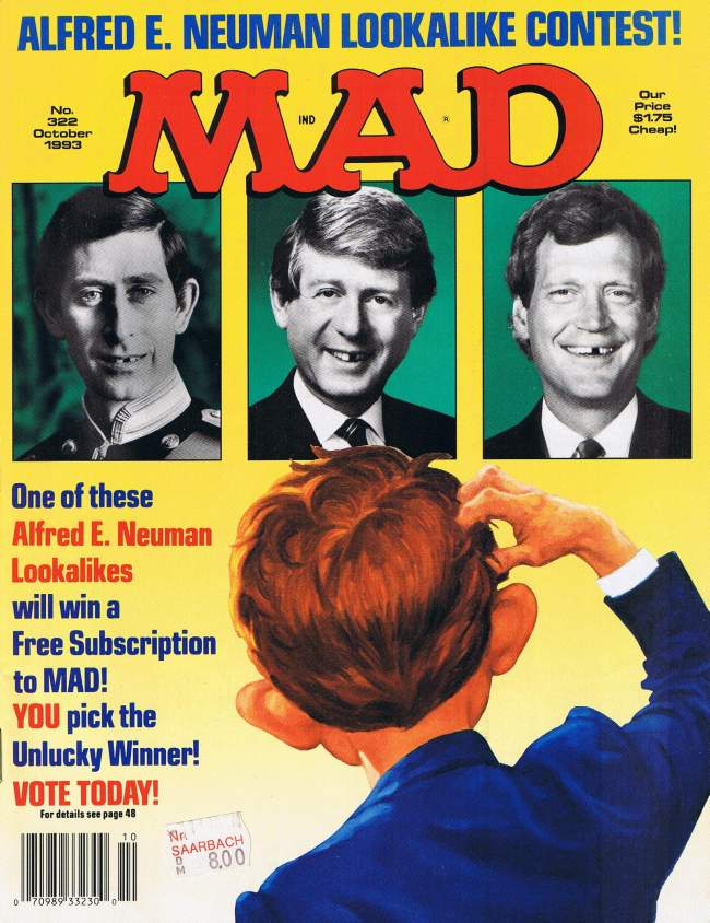MAD Magazine #322 • USA • 1st Edition - New York