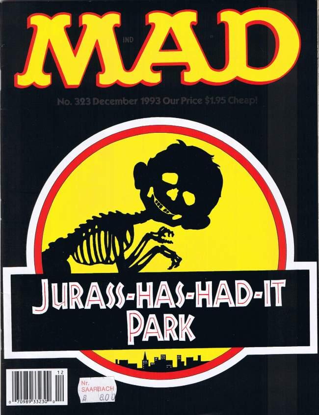 MAD Magazine #323 • USA • 1st Edition - New York