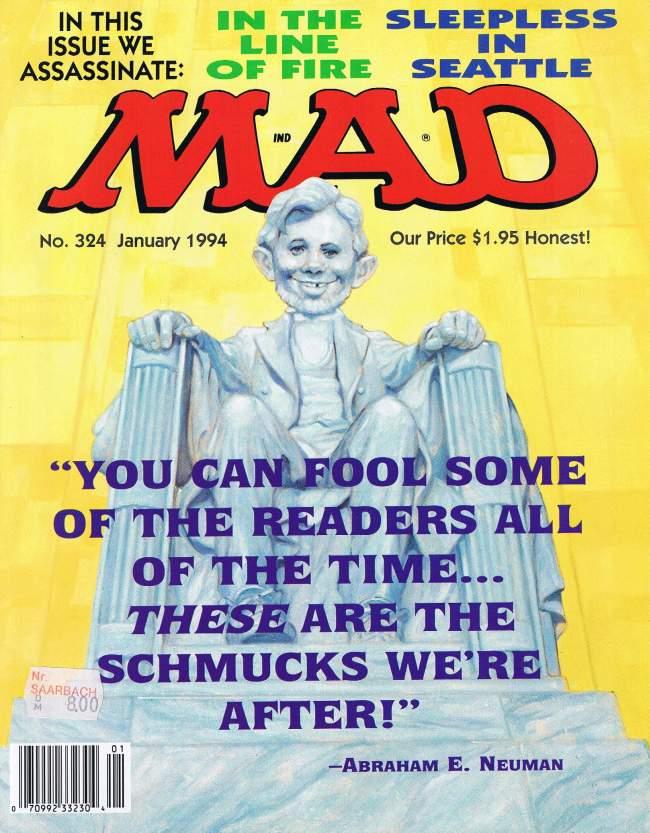 MAD Magazine #324 • USA • 1st Edition - New York