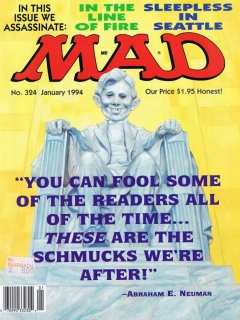 MAD Magazine #324 • USA • 1st Edition - New York