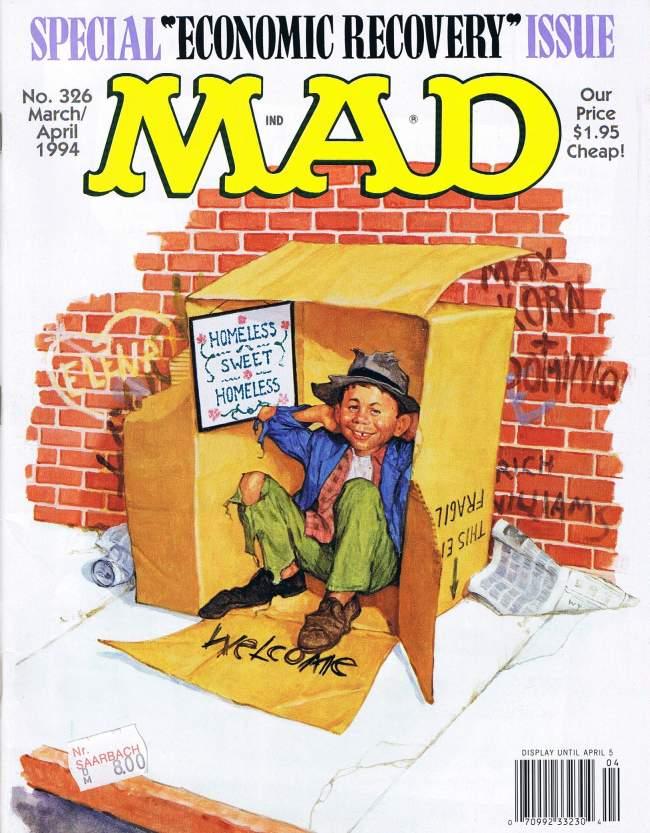 MAD Magazine #326 • USA • 1st Edition - New York