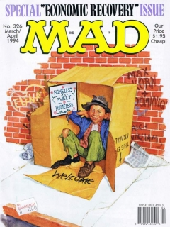 MAD Magazine #326 • USA • 1st Edition - New York