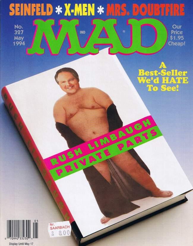 MAD Magazine #327 • USA • 1st Edition - New York