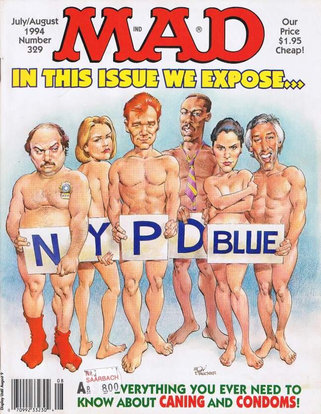 MAD Magazine #329 • USA • 1st Edition - New York