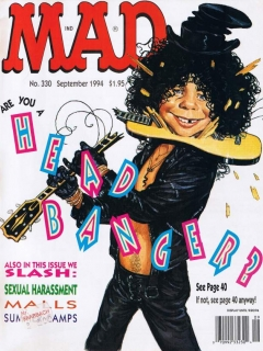 MAD Magazine #330 • USA • 1st Edition - New York