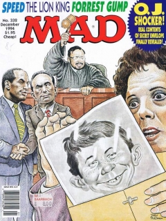 MAD Magazine #332 • USA • 1st Edition - New York