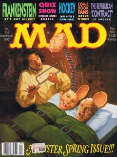 Go to MAD Magazine #334 • USA • 1st Edition - New York