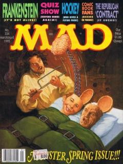MAD Magazine #334 • USA • 1st Edition - New York