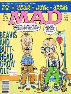Go to MAD Magazine #336 • USA • 1st Edition - New York