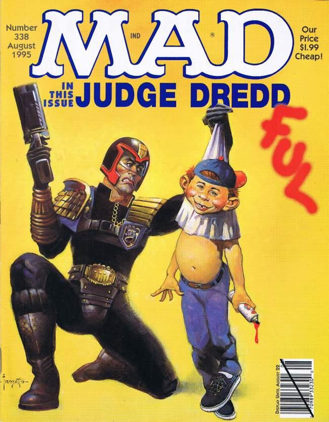MAD Magazine #338 • USA • 1st Edition - New York