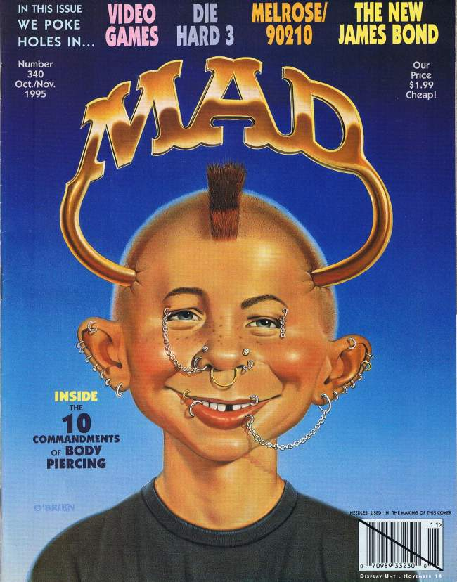 MAD Magazine #340 • USA • 1st Edition - New York