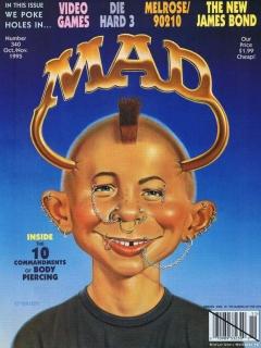 MAD Magazine #340 • USA • 1st Edition - New York