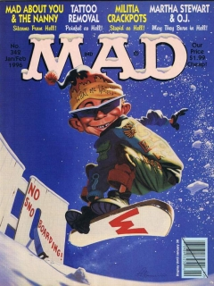 Go to MAD Magazine #342