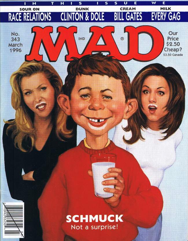 MAD Magazine #343 • USA • 1st Edition - New York
