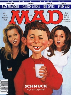 Go to MAD Magazine #343 • USA • 1st Edition - New York