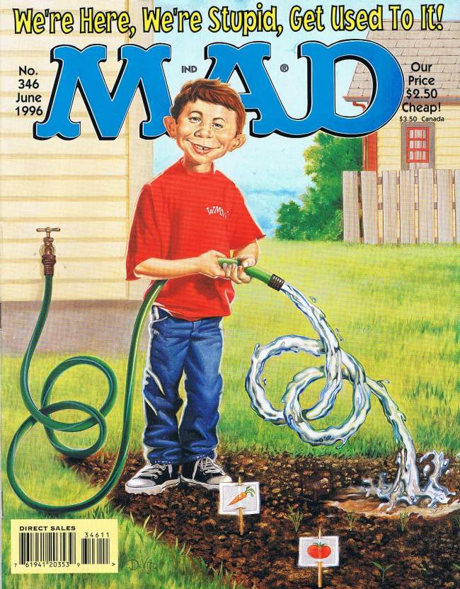 MAD Magazine #346 • USA • 1st Edition - New York