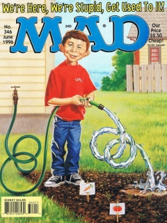 Go to MAD Magazine #346 • USA • 1st Edition - New York