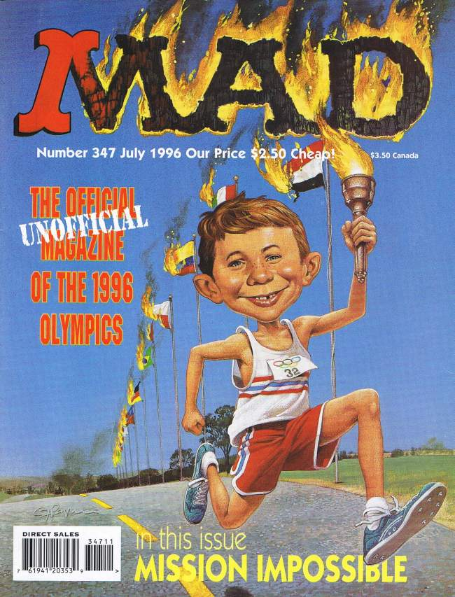 MAD Magazine #347 • USA • 1st Edition - New York