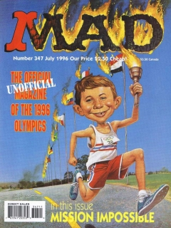 Go to MAD Magazine #347 • USA • 1st Edition - New York
