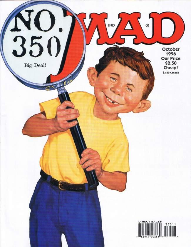 MAD Magazine #350 • USA • 1st Edition - New York
