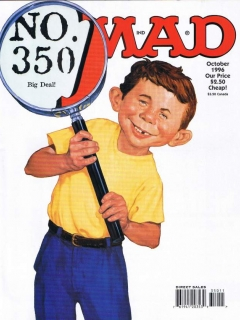 MAD Magazine #350 • USA • 1st Edition - New York