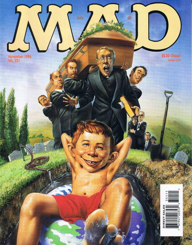 MAD Magazine #351 • USA • 1st Edition - New York