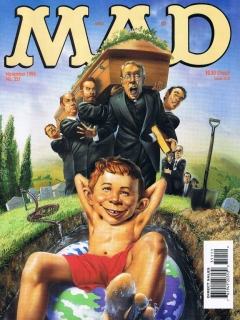 Go to MAD Magazine #351 • USA • 1st Edition - New York