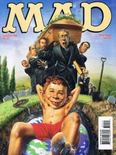 MAD Magazine #351 • USA • 1st Edition - New York