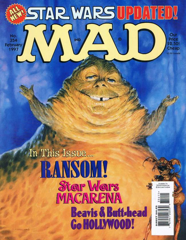MAD Magazine #354 • USA • 1st Edition - New York