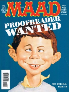 Go to MAD Magazine #355 • USA • 1st Edition - New York