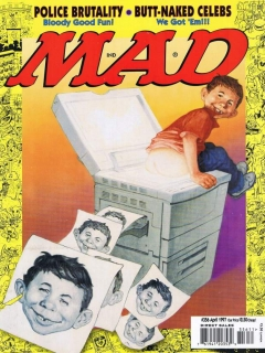 Go to MAD Magazine #356
