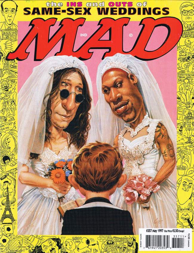 MAD Magazine #357 • USA • 1st Edition - New York