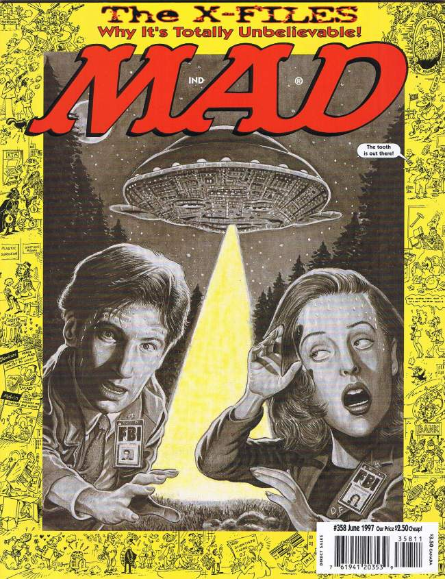 MAD Magazine #358 • USA • 1st Edition - New York