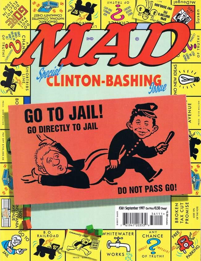 MAD Magazine #361 • USA • 1st Edition - New York