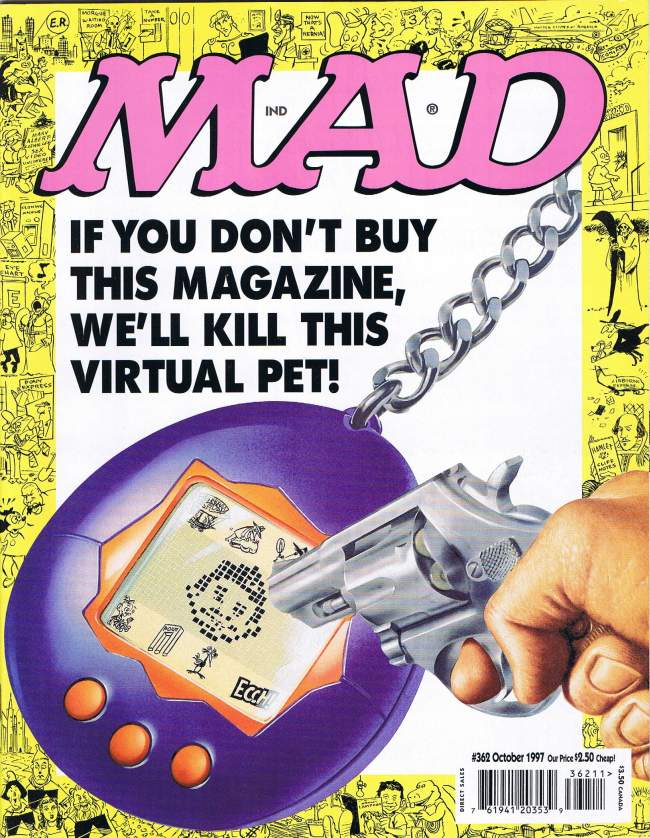 MAD Magazine #362 • USA • 1st Edition - New York