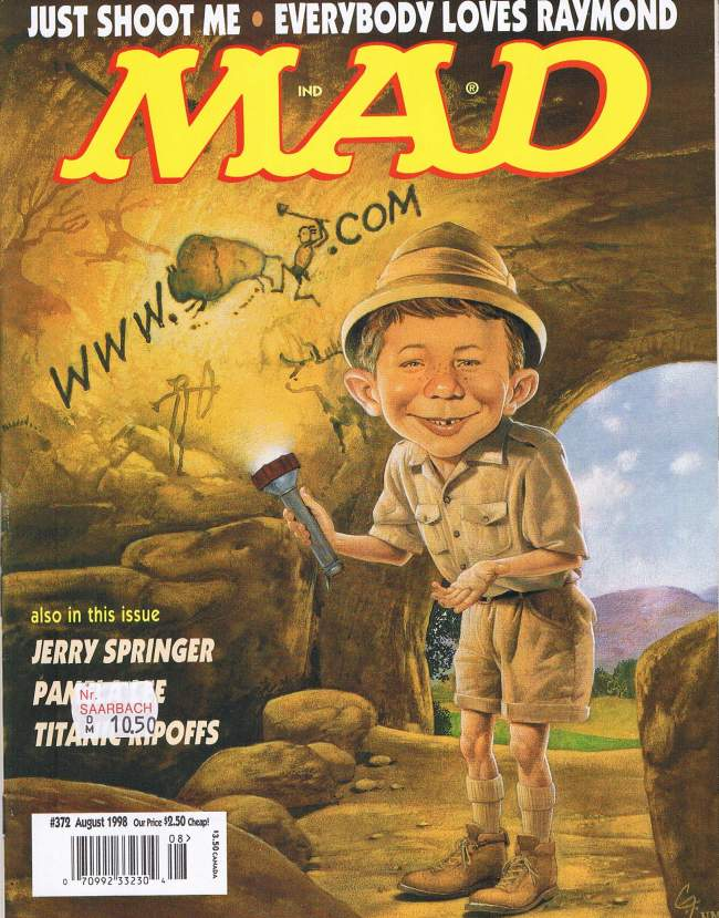 MAD Magazine #372 • USA • 1st Edition - New York