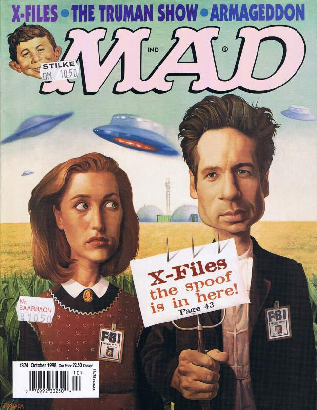 MAD Magazine #374 • USA • 1st Edition - New York