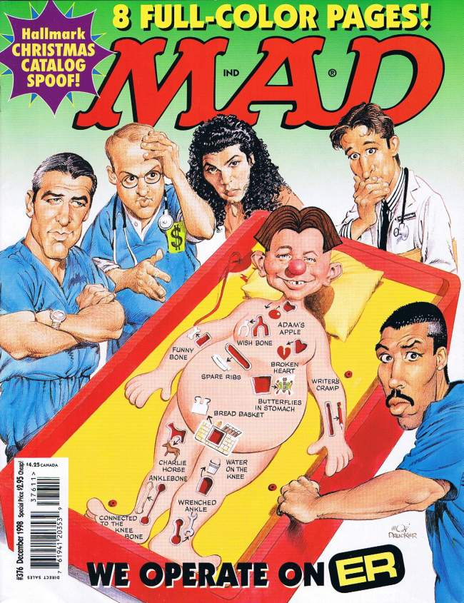 MAD Magazine #376 • USA • 1st Edition - New York
